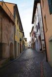 Conegliano street, Treviso province Stock Photography