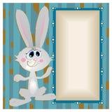 Conejito, conejo de grandes ojos con los oídos largos Imagen de archivo libre de regalías