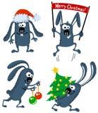 Conejito de la Navidad ilustración del vector