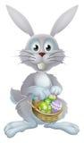Conejito de los huevos de Pascua stock de ilustración
