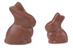 Conejito de pascua del chocolate foto de archivo libre de regalías