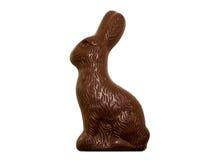 Conejito de pascua del chocolate Imagenes de archivo