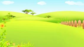 Conejito de pascua feliz que camina con los huevos coloridos