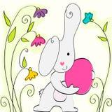 Conejito de pascua lindo libre illustration