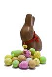 Conejito del chocolate Imagenes de archivo