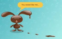Conejito del chocolate. libre illustration