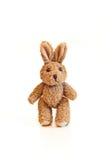 Conejito del juguete de Brown Foto de archivo libre de regalías