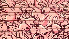 Conejitos de la pintada imagen de archivo