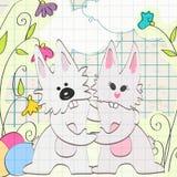 Conejitos de pascua lindos libre illustration