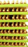 Conejitos del chocolate de Pascua Imagenes de archivo