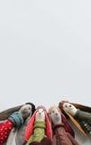 Conejitos del inconformista de Pascua Fotografía de archivo