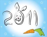 Conejo 2011 Fotografía de archivo libre de regalías