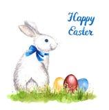 Conejo blanco ilustración del vector
