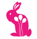 Conejo con el globo libre illustration