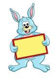 Conejo con el mensaje