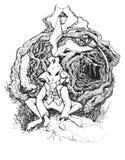 Conejo de Alicia en el país de las maravillas libre illustration