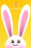 Conejo de conejito feliz de pascua Fotos de archivo libres de regalías
