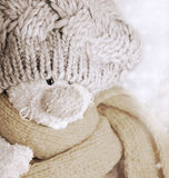 Conejo de la felpa Foto de archivo libre de regalías