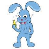 Conejo de la historieta con sonrisa grande libre illustration