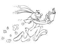 Conejo de la velocidad stock de ilustración