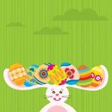 Conejo de Pascua stock de ilustración