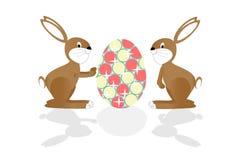Conejo de Pascua Foto de archivo libre de regalías