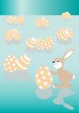 Conejo de Pascua Fotos de archivo