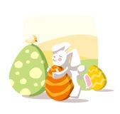 Conejo de Pascua Imágenes de archivo libres de regalías
