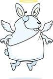 Conejo del ángel Imágenes de archivo libres de regalías