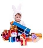 Conejo del Año Nuevo Foto de archivo