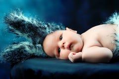 Conejo del Año Nuevo Foto de archivo libre de regalías
