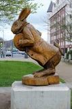 Conejo del blanco de s de Alicia ' Fotografía de archivo libre de regalías