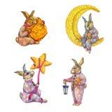 Conejo del illustranion de Babby ilustración del vector