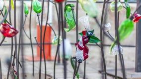 Conejo del vidrio de Murano Imágenes de archivo libres de regalías