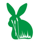 Conejo en el salvaje ilustración del vector