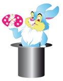 Conejo en sombrero Imágenes de archivo libres de regalías