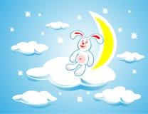 Conejo en una nube
