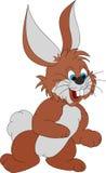 Conejo feliz stock de ilustración