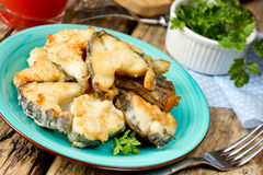 Conejo frito del mar de los pescados (pescado de la quimera, rata del mar) Fotos de archivo