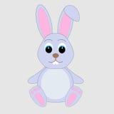 Conejo lindo de la historieta Imagenes de archivo