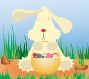 Conejo pascua Stock de ilustración