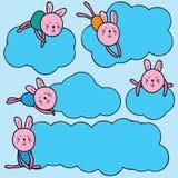 Conejo que sueña el cielo Imágenes de archivo libres de regalías