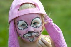 Conejo rosado Foto de archivo libre de regalías
