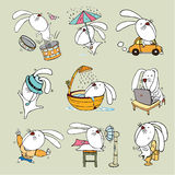 Conejo Toon Imagen de archivo
