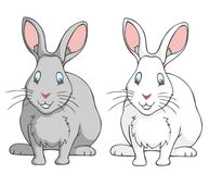 Conejos ilustración del vector