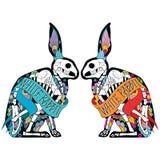 Conejos de Colorfull libre illustration