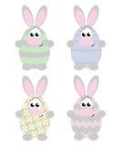 Conejos de Pascua Fotos de archivo libres de regalías