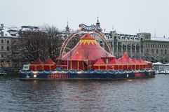 Conelli's Circus in Zurich Royalty Free Stock Image