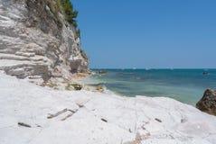 Conero海滩 库存图片