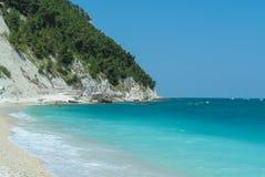 Conero beach Royalty Free Stock Image